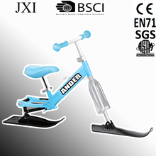 2015 best selling gas powered bicycles for sale 2 way snow ski scooter with CE, EN71