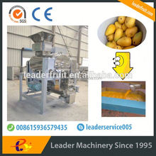 Leader high quality mango paste/pulp beating machine/beater offering its services to overseas