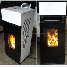 2015 New Design 9kw/14kw cast iron wood burning stove with oven, portable small pellet stove China, smokeless fireplace with CE
