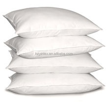 Hotel bedding item supplier high quality duck goose down feather down proof pillow wholesale