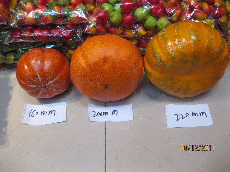 Helloween Artificial pumpkins to decorate