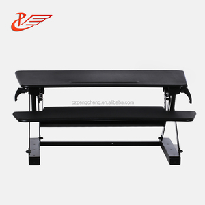 Steel Table Frame Foldable Laptop Lifting Up Height Adjustable Sitting Standing Desk Table