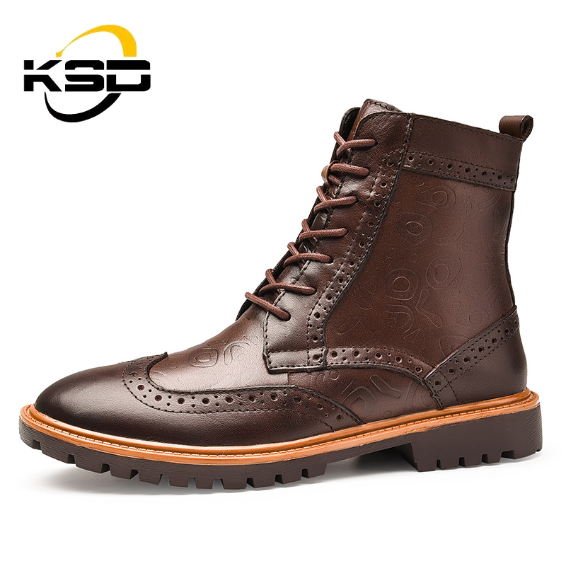 Fashion Trend Winter Shoes Keep Warm High Ankle <strong>Boots</strong> For Men