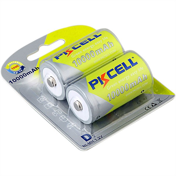 Shenzhen PKCELL 10000mAh 1.2v NI-MH rechargeable d size <strong>battery</strong>