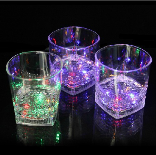 colorful LED plastic Flashing cup 10oz
