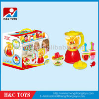 Ice cream maker toy,children pretend toy ice lolly popsicle and juice making machine HC203629
