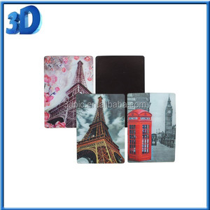 Promotional custom souvenir 3d fridge magnet manufaturer