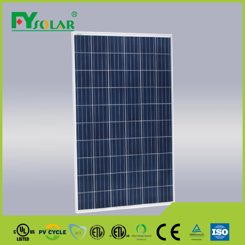 price per watt 270W polycrystalline silicon luminous solar panel making machine