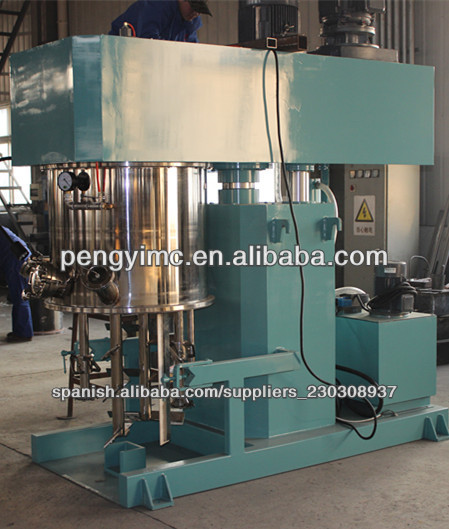 China produced high viscous paste mixer vacuum mixing machine