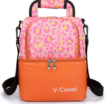Hot selling disposable insulated cooler bag for lunch box