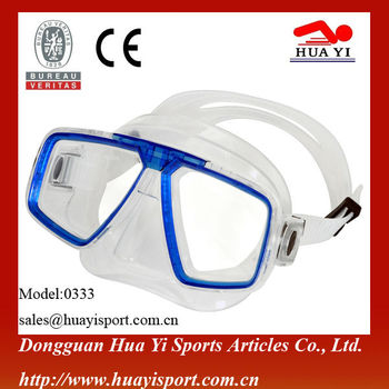 Silicone mask diving glasses diving equipment hot sale mask eyewear