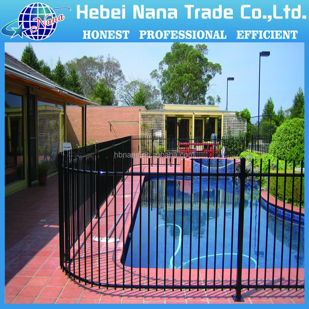 Anodized Decorative Aluminum Fencing / yard fence with different size
