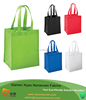 "Eco-friendly Reusable Bag Non Woven Grocery Tote Bag 15""H x 13""W x 10""Gusset With Handles"