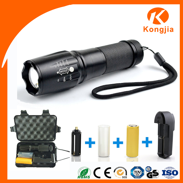 Chinese Factory New Style Power Torch item with Aluminium for Euro Market Cheap Led Power Torch