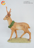 Hot selling resin nature deer