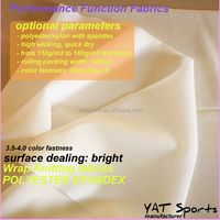 110GSM 85% Nylon 15% spandex Wrap knitting bright lycra nylon spandex fabric