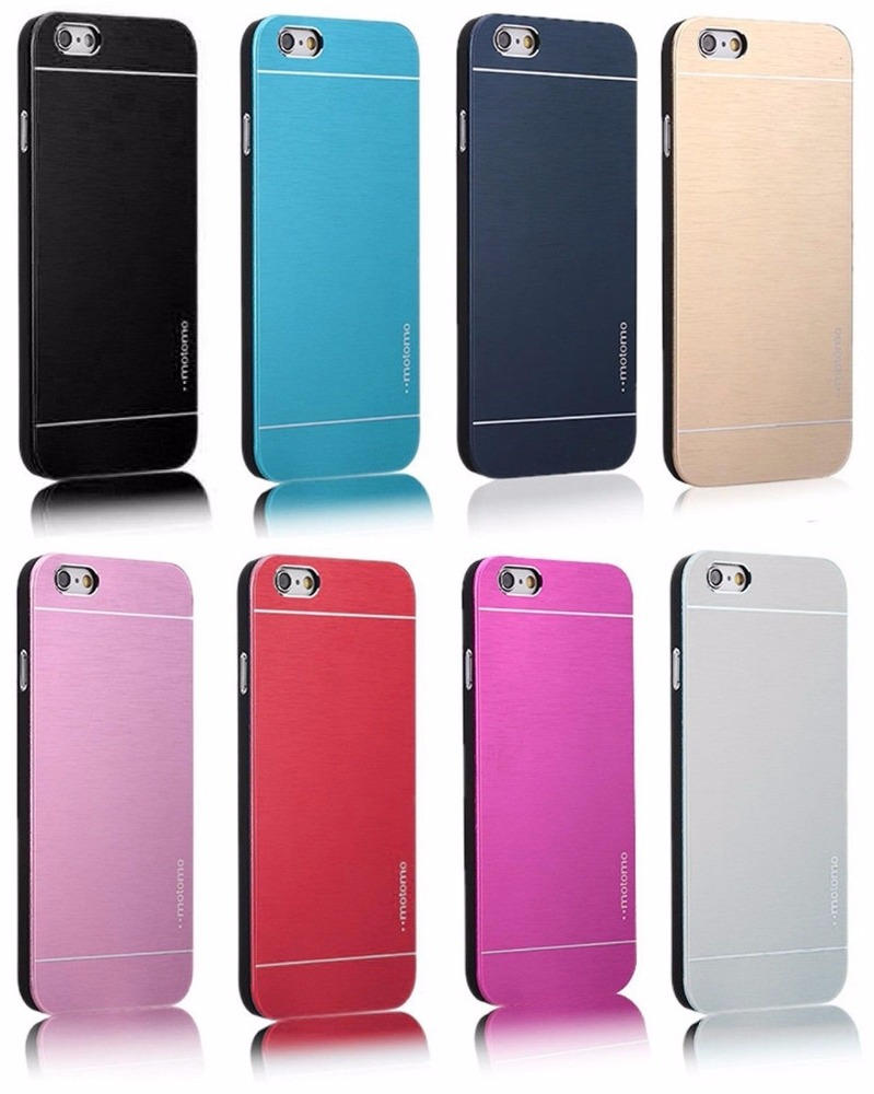 Deluxe Aluminum Metal Brushed Case Cover for iphone 6 6s plus 5s iphone 7 Plus
