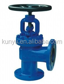 High quality good price right angle globe valves