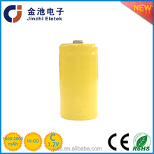 2000mah rechargeable battery nicd 1.2v sc size ni-cd sub c battery with flat top