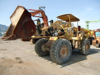 CAT WHEEL LOADER CAT 950 YR: 1970