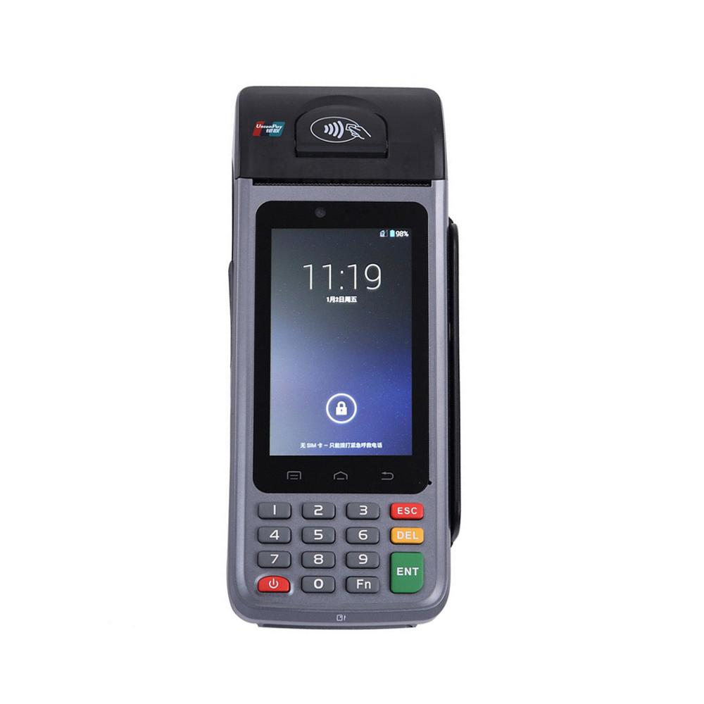 Hot sale 3G wifi camera wireless touch POS machine mobile payment terminal with printer for vendors retailers