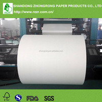 Greaseproof paper jumbo roll with pe
