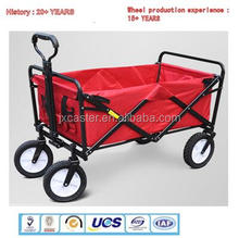 Household four-wheel pet picnic supermarket fishing shopping shopping folding portable small trolley car move drag truck