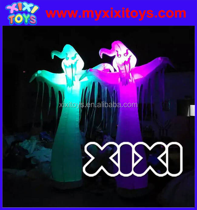 Advertising inflatable halloween figure for sale, LED Halloween Inflatables