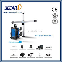 Decar 3D machine steering wheel alignment with John Bean database