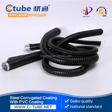 Flexible Corrugated Electrical Conduit Pipes, PVC Coated Flexible Pipe