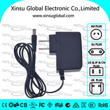 100-240v portable switching adapter 5v 2a for router/home appliance/cctv/humifidier
