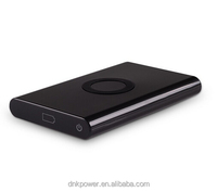 2016 new design power bank wireless charger for qi wireless charging