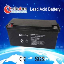 Rechargeable Deep Cycle Sealed Lead Acid Storage Battery Solar Use 12V 5Ah-250Ah for Solar Power System