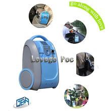 2014 battery operated oxygen concentrator LG-101