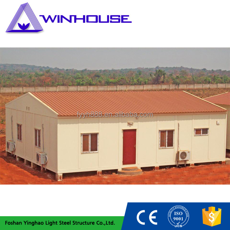 Environmental Protection Mobile Low Cost Prefab Duplex House
