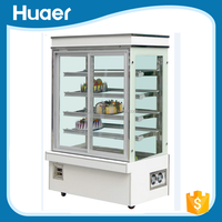 China manufacturer upright cake refrigerator Cost-effective mini cake display refrigerator