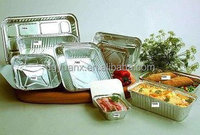 High quality aluminum foil container for food packing