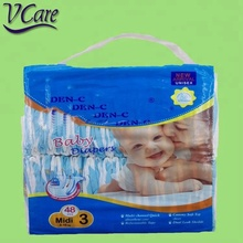 Hot Sale ,Sweet Fine Baby Diaper With Elastic Waistband