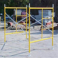 Building Scaffolding Ladder/H and Door Type Frame(FACTORY in Tianjin)