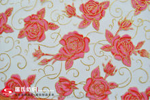 Flocked Organza/Organdy Fabric for Dress and Garment