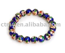 CTCB015 cloisonne round beads fashion bracelet jewelry