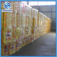 Glass wool for metal structure roofing insulation/Fiber glass wool roll