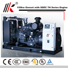 DIESEL ENGINE WITH SHANGHAI SC8D220D2 120KW 150KVA POWER GENSET GENERATOR SET FOR REEFER CONTAINER