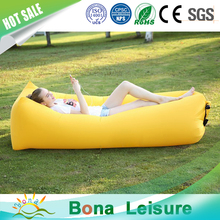 Wholesale Newest High Quality 210T Pure Nylon Inflatable Sleeping Banana Bag