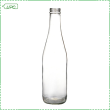 UPC clear beverage soft drink glass soda water bottle 355ml
