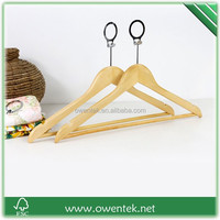 Hotel anti-theft wooden hanger, factory directly selling