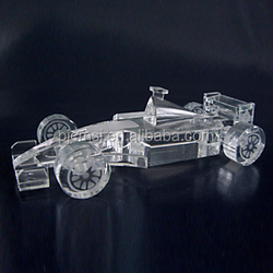 Wholesale Etched Formula One Crystal Racing For Game Souvenir Gift
