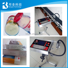 2017 Best selling bottles cans boxes date code batch number printing machine