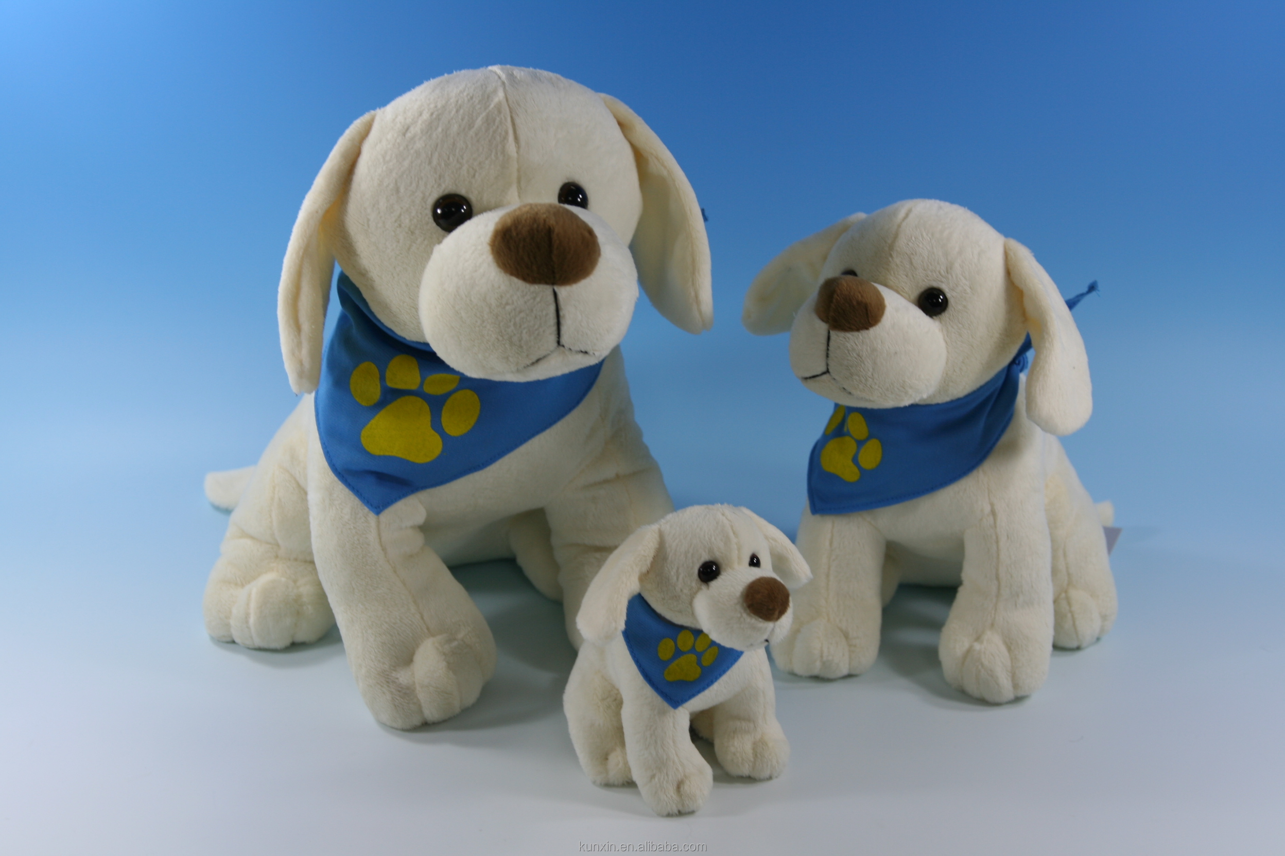 Custom made plush dog labrador puppies for sale with great price