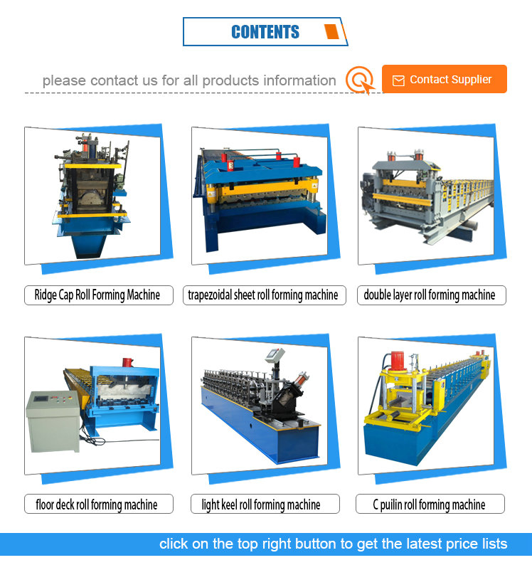 construction material cz purlin roll forming machine